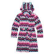 Total Girl® Long-Sleeve Chevron Robe - Girls 7-16