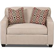 Sleeper Possibilities Track-Arm Twin Chair