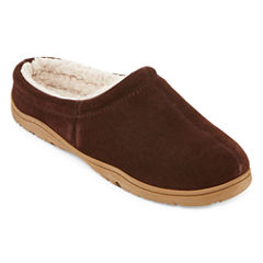 Rockport® Mens Suede Clog Slippers
