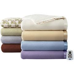 Micro Flannel® Heated Blanket