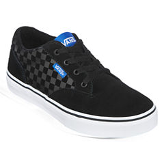 Vans® Winston Check Boys Skate Shoes - Big Kids