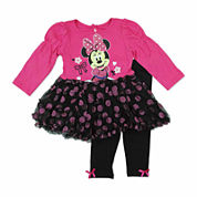 Disney Girls Legging Set-Baby