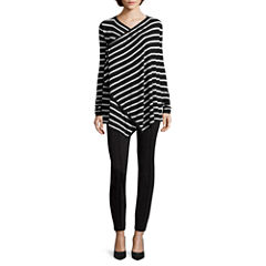 nicole by Nicole Miller® Striped Cardigan or Ankle Pants