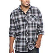 Zoo York® Long-Sleeve Woven Plaid Shirt - Big & Tall