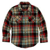 Arizona Long-Sleeve Flannel Shirt - Preschool Boys 4-7