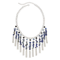 Mixit™ Blue Stone Shaky Necklace