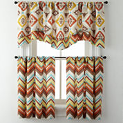 Toro or Summit Rod-Pocket Kitchen Curtains