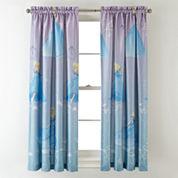 Disney Cinderella Enchanted Moment Room-Darkening Rod-Pocket/Back-Tab Curtain Panel