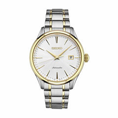 Seiko Mens Two Tone Bracelet Watch-Srp704
