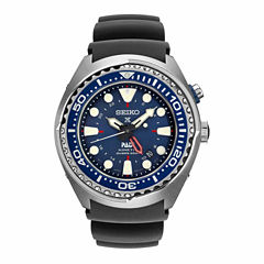 Seiko Mens Blue Strap Dive Watch-Sun065