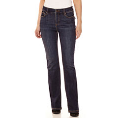 St. John's Bay® Back Flap Pocket Bootcut Jeans