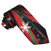 Hallmark® Fantasy Snowflake Panel Tie