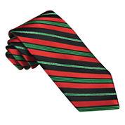 Hallmark® Candy Cane Lurex® Striped Tie