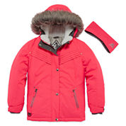 Zero Xposure Girls Heavyweight Ski Jacket-Big Kid