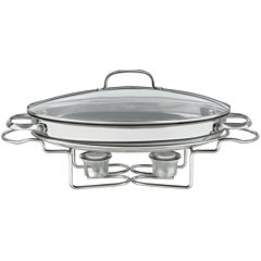 Cuisinart® Stainless Steel Oval Buffet Server