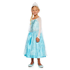 Disney Collection Elsa Costume, Tiara, Wig or Shoes