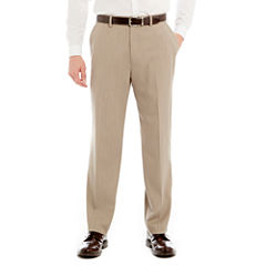Stafford® Endurance Flat-Front Dress Pants