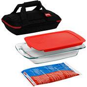 Pyrex® Portables® 4-pc. Bakeware Set