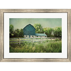 Blissful Country III Framed Wall Art