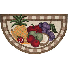 Nourison® Fruit Washable Wedge Rug