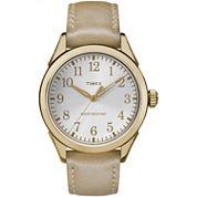 Timex Womens Gold Tone Strap Watch-TW2P99300JT