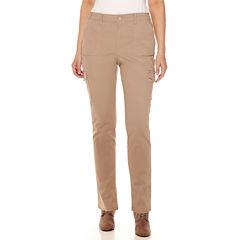 Gloria Vanderbilt® Twill Cargo Pants