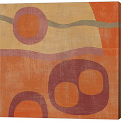 Abstract III Gallery Wrapped Canvas Wall Art On Deep Stretch Bars