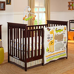 NoJo® Zoobilee 4-pc. Crib Bedding Set