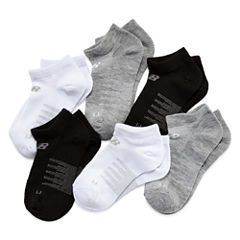New Balance Girls No Show Socks-Big Kid