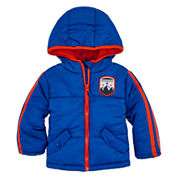 Weatherproof Boys Heavyweight Puffer Jacket-Baby