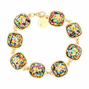 Liz Claiborne Multi Color Bangle Bracelet