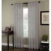 Rod-Pocket Sheer Curtain Panel