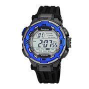Armitron Mens Black Strap Watch-40/8301blu
