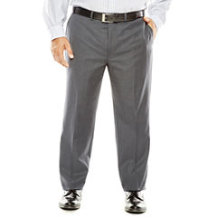 Collection by Michael Strahan Gray Weave Suit Pants - Big & Tall