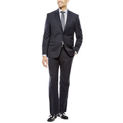 Collection by Michael Strahan Black Herringbone Suit Separates - Classic Fit