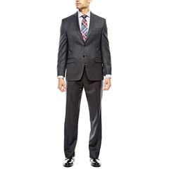 Collection by Michael Strahan Charcoal Windowpane Suit Separates - Classic Fit