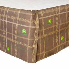 John Deere® Camo Bedskirt