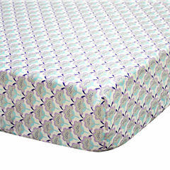 the Peanut Shell Crib Sheets