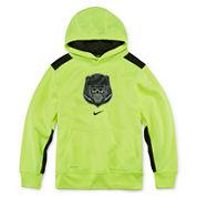 Nike® Long-Sleeve Graphic Hoodie - Boys