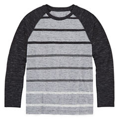 Arizona Long Sleeve Raglan Tee Boys 8-20 & Husky