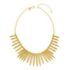 KJL by KENNETH JAY LANE Gold-Tone Spike Necklace