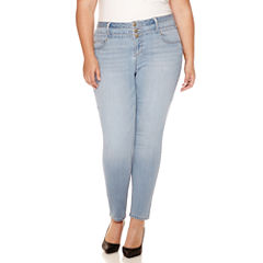 Blue Spice High-Rise Skinny Jeans - Juniors Plus