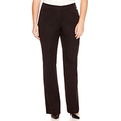 St. John's Bay® Bi-Stretch Pants - Plus