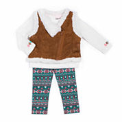 Little Lass Girls Legging Set-Baby
