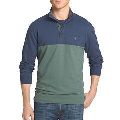 IZOD Long-Sleeve Mock Shirt