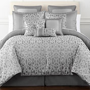 Home Expressions™ Erin Scroll 7-pc. Comforter Set