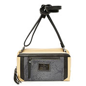 Nicole By Nicole Miller Poppy Double Crossbody Bag