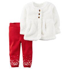 Carter's 2-pc. Pant Set Baby Girls