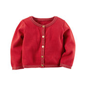Carter's Short Sleeve Cotton Cardigan - Baby