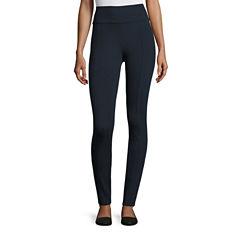 Liz Claiborne® Split-Seam Ponte Pants
